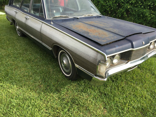 1968 Gold Mercury Other Wagon with Gold interior