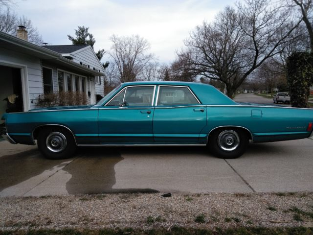 1968 Mercury Monterey 4-door