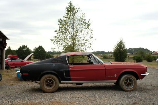 1968 Mustang Fastback GT S Code 4spd Project