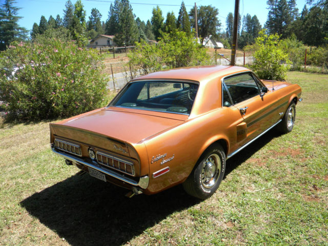 1968 mustang gt cs california special for sale photos technical specifications description. Black Bedroom Furniture Sets. Home Design Ideas
