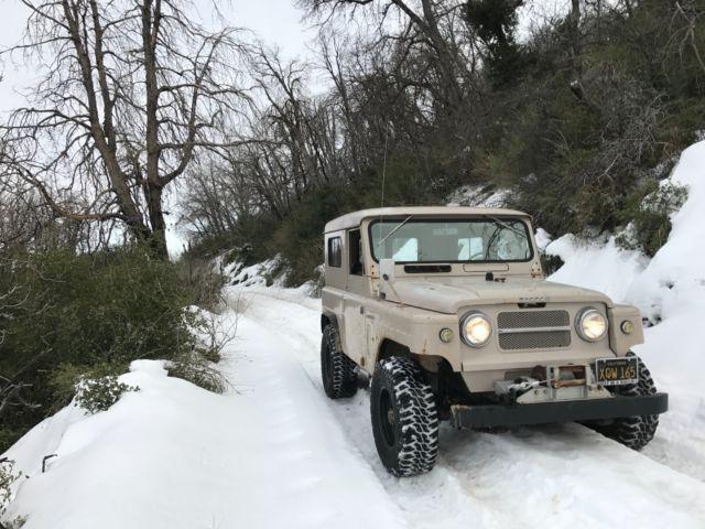 1968 nissan patrol kl60 hardtop 4 0l original california truck w rh topclassiccarsforsale com