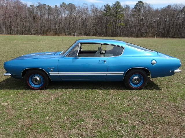 1968 Plymouth Barracuda Formula S Real 383 4 Speed Blue