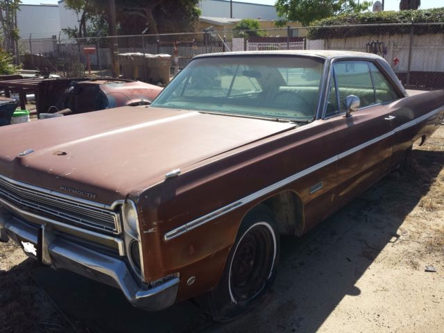 Cars For Sale By Owner In Bakersfield Ca >> 1968 Plymouth Fury 3 , two door hardtop, factory AC original CA black plates for sale: photos ...