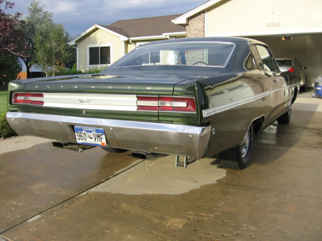 1968 Plymouth Fury Fastop