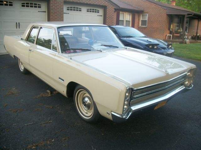 1968 Plymouth Fury base
