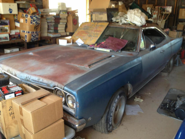 1968 Plymouth GTX Barn Find Survivor - No Reserve