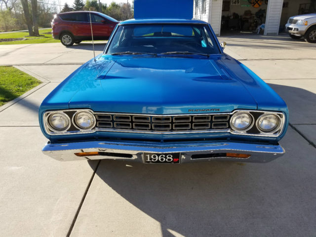 1968 Plymouth Road Runner Base