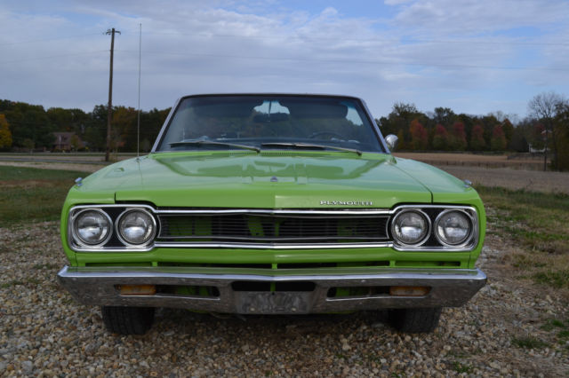 1968 Plymouth Satellite Sport Convertible