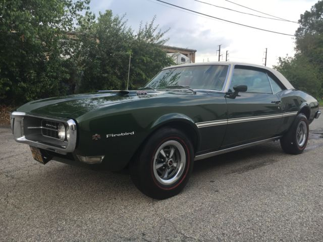 1968 Pontiac Firebird 400 TURBO 400