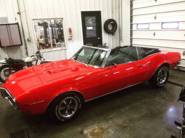 1968 PONTIAC FIREBIRD 400 CONVERTIBLE - RAM AIR - IROC TUNED