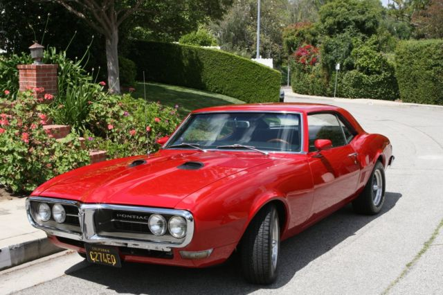 1968 Pontiac Firebird 400 Restomod Pro Touring For Sale