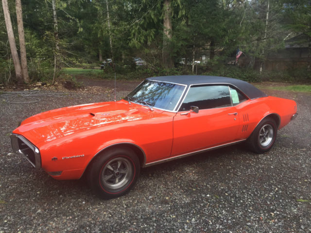 1968 Pontiac Firebird Ram Air 1