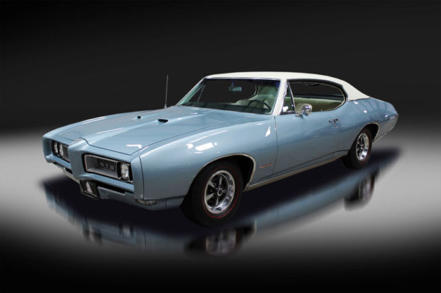 1968 Pontiac GTO Survivor. Documented. Matching Numbers. Must See!