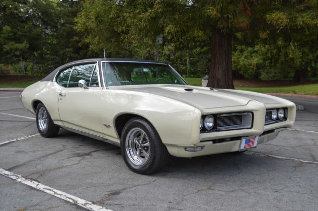 1968 Pontiac GTO 400 CI Auto Numbers Match Fully Documented