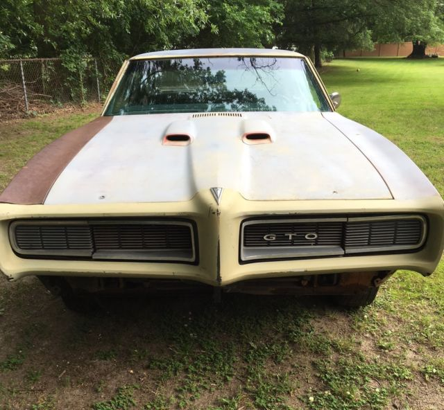 1968 Pontiac GTO    Ultra Rare RAM AIR II CAR for sale