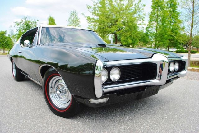 1968 Pontiac Le Mans Hardtop Restored Buckets Console A/C Stunning.