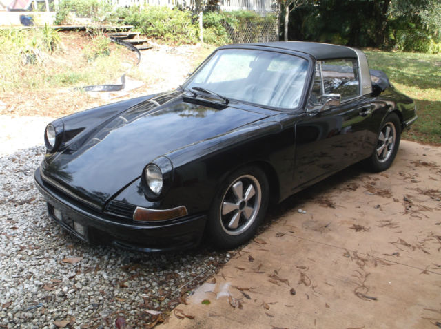 1968 porsche 911l 911 4 speed soft window targa barn find. Black Bedroom Furniture Sets. Home Design Ideas