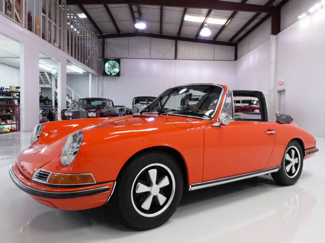"1968 Porsche 911 S Soft Window Targa, RARE ""EURO-SPEC"" EXAMPLE!"