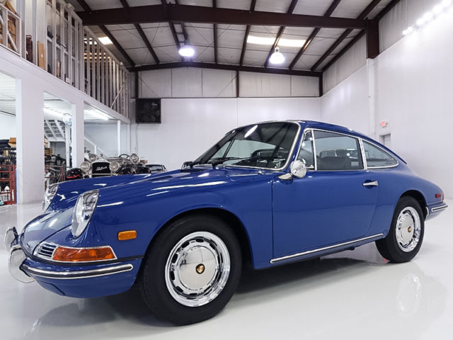 1968 Porsche 912 SWB Coupe by Karmann, 59,823 DOCUMENTED MILES!