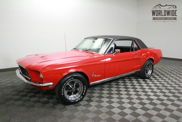 1968 Ford Mustang AC! 302 V8. DISC BRAKES. PS.PB!