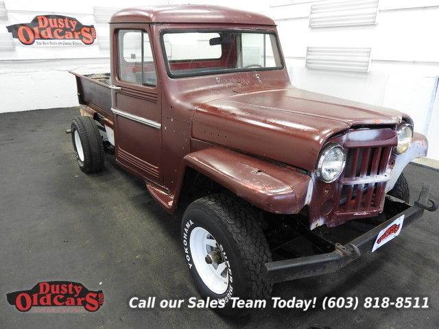 1968 Willys Jeep Runs Drives Body Int Good 226I6 3spd man