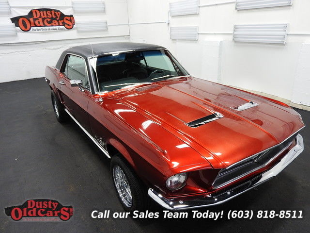 1968 Ford Mustang Runs Drives Body Int VGood 302V8 3spd auto