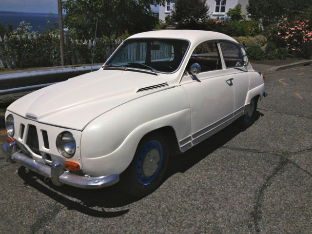 1968 Saab 96 Two Door Coupe