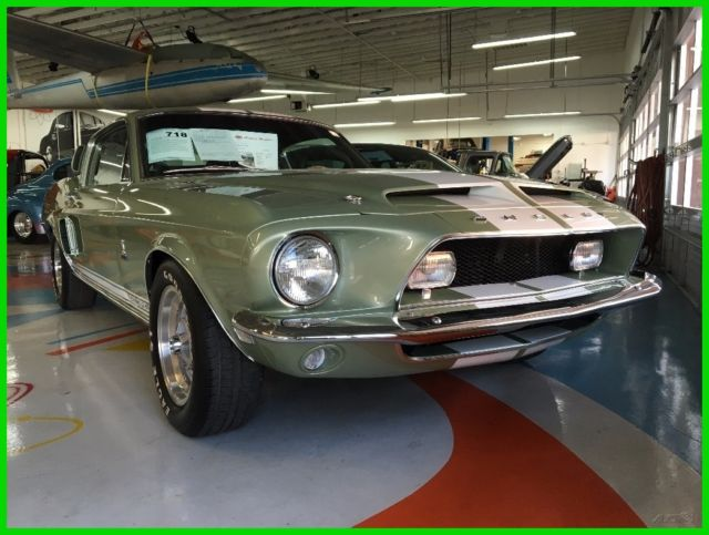 1968 Green Shelby Shelby GT350 Coupe with Black interior