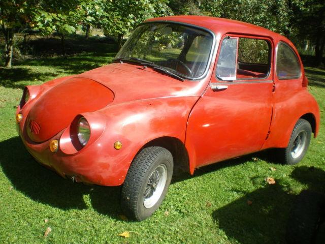 1968 SUBARU 360 MINI MICRO CAR for sale photos technical