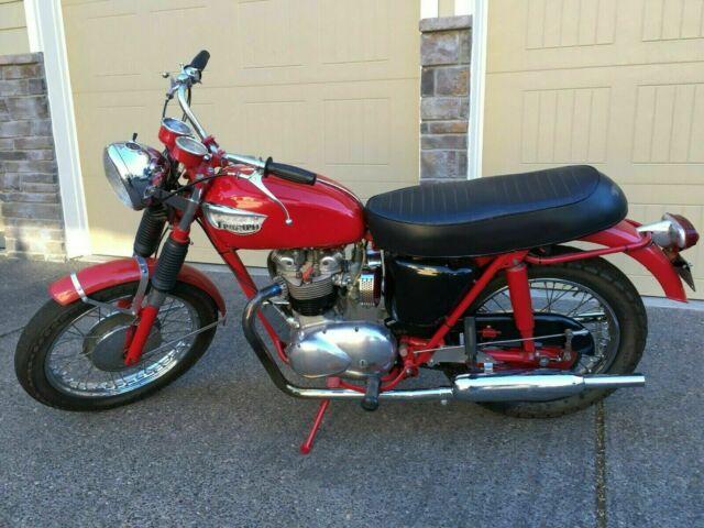 1968 Triumph Motorcycle  T100r, 500cc dual carburetor  Good