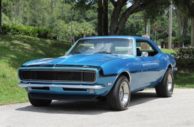 1968 Used Automatic Rwd Chevrolet Chevy 68 Camaro Big Block Restored 69 Auto For Sale Photos
