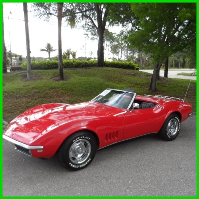 1968 Chevrolet Corvette Convertible 427 4 Speed