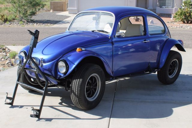 1968 Volkswagen Beetle Classic W Baja Kit Car Cover Extra Rims Tow