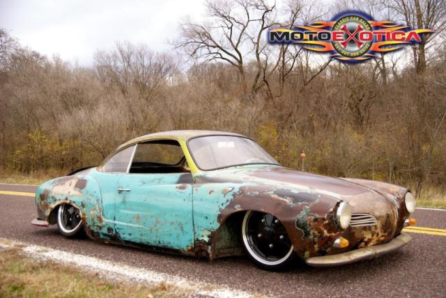 1968 Multi Volkswagen Volkswagen Karmann Ghia Rat Rod Ghia Coupe with Multi interior