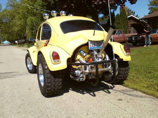 vw baja beetle  sale  technical specifications description