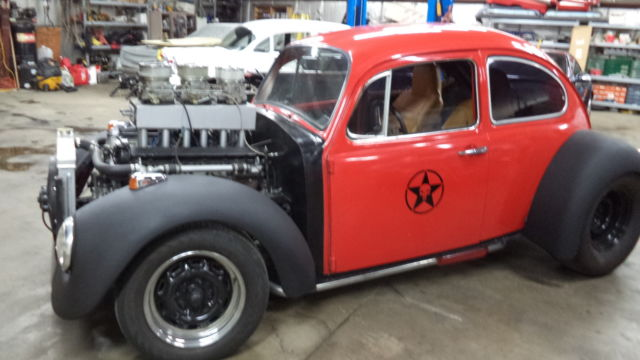 1968 Vw Beete Rat Rod V12 Engine Auto 1 Of A Kind For Sale