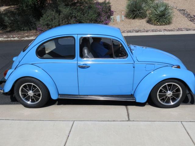 1968 vw beetle sedan restored custom for sale photos technical. Black Bedroom Furniture Sets. Home Design Ideas