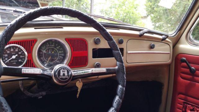 1968 VW Bug (European) NO RESERVE! for sale: photos, technical specifications, description