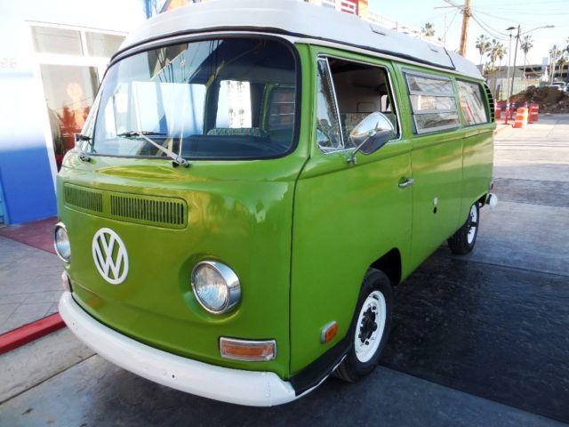 1968 Vw Camper Bus California Beach Surf Cruiser For Sale