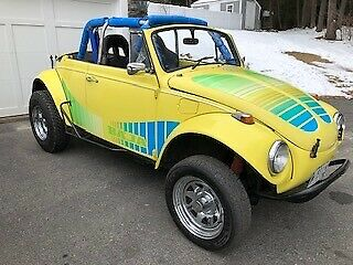 1968 VW Convertible Baja Beetle New 1600 Dual Port Engine Volkswagen