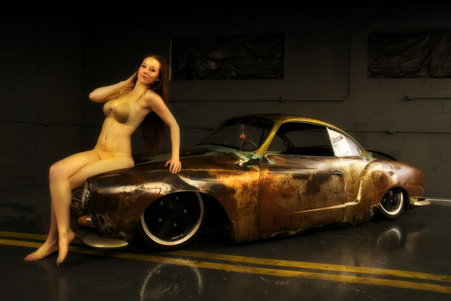 1968 vw karmann ghia custom rat rod from gas monkey garage. Black Bedroom Furniture Sets. Home Design Ideas