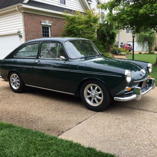 Volkswagen Fastback For Sale: 1968 VW Type III For Sale: Photos, Technical