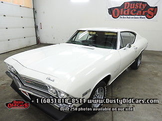 1968 Chevrolet Chevelle Runs Drives Body Interior VGood 350V8 AC