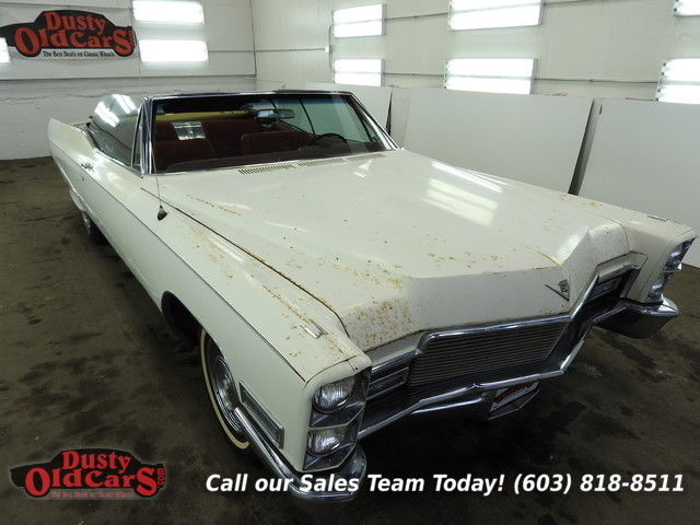 1968 Cadillac DeVille Runs Yard Drives Body Int Good 472V8 3spd auto