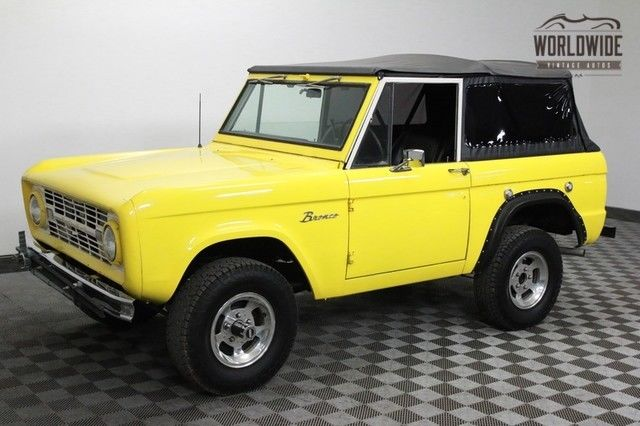 1968 Ford Bronco FUEL INJECTED SOFT TOP