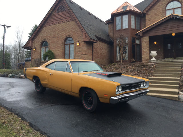 1969 1/2 Dodge SuperBee A12 Bahama Yellow Restored for sale