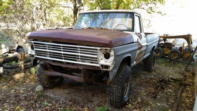 1969 Ford F-250 Base Standard Cab Pickup 2-Door