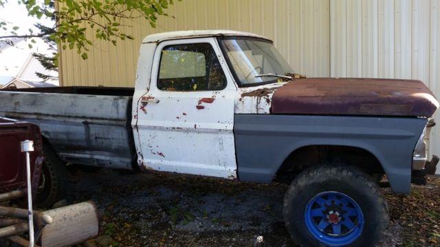 1969 1971 ford f 100 f 250 f250 4x4 390 auto 4wd solid highboy 1971 Ford Highboy 4x4 prevnext