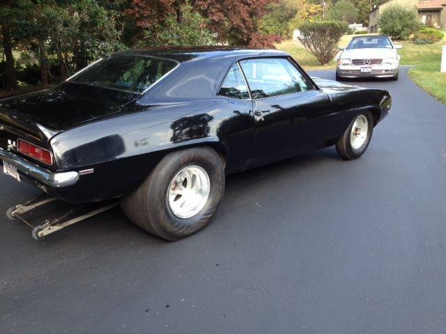 1969 427 Camaro Drag Car