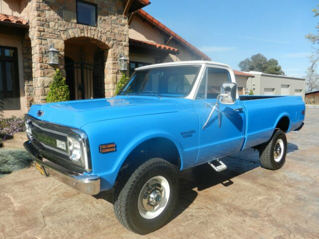 1969 Chevrolet C/K Pickup 2500 Black